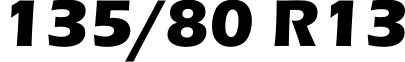 135/80R13